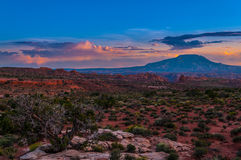 Navajo Mountain Utah Stock Image