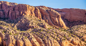 Navajo National canyons Royalty Free Stock Photos
