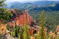 Navajo pętli Bryka jaru parka narodowego Utah usa Zdjęcie Royalty Free