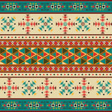 Navajo pattern Stock Image