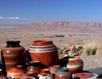 Navajo Pottery. Royalty Free Stock Image