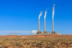 Navajo Power Generating Station AZ. Navajo Power Generating Station, Page AZ stock images