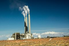 Navajo Power Generating Station Stock Photo