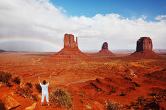 Navajo Reservation in the US Royalty Free Stock Image