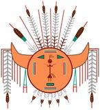 Navajo słońce Obraz Stock
