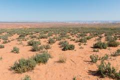 Navajo sandstone desert royalty free stock image