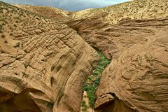 Navajo Sandstone Formation. In Northern Arizona State. United States royalty free stock images