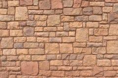 Navajo sandstone wall Royalty Free Stock Photos