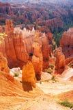 Navajo-Schleife, Thor& x27; s-Hammer Bryce Canyon stockfotos