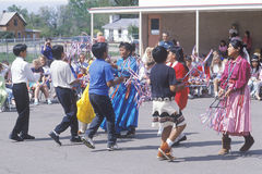Navajo schoolchildren Royalty Free Stock Photo