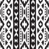 Navajo seamless pattern. Stock Photo