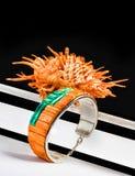 Spiny Oyster Bracelet. Stock Photography