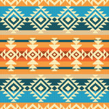 Navajo style geometric seamless pattern. Navajo style abstract geometric ethnic seamless pattern Royalty Free Stock Images