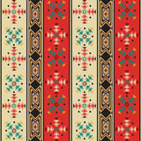 Navajo style pattern Royalty Free Stock Photo