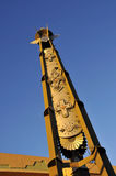 Navajo Tower. Tower in Albuquerque, New Mexico depicting Navajo symbols Stock Images