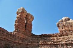Navajo Twin Rocks Royalty Free Stock Photos