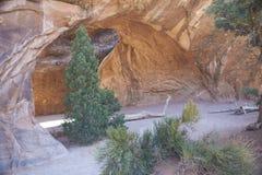Navajo łuk Fotografia Stock