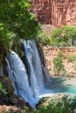 Navajo valt Zijaanzicht stock foto
