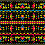 Navajo weaving fashion seamless vector pattern. Vintage tribal art print of ethnic african endless background Royalty Free Stock Image
