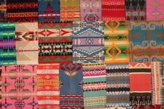 Navajo-Wolldecken Stockbild