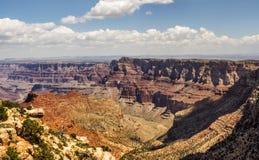 Navajosiktspunkt, Grand Canyon södra kant - Arizona Arkivbild
