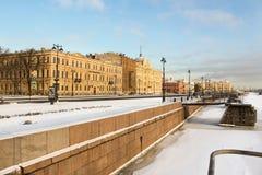 Naval Academy named after Fleet Admiral Kuznetsov. Stock Photo