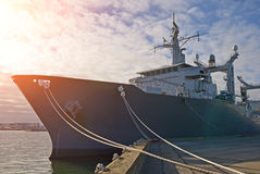 Naval Auxiliary Ship. Royalty Free Stock Images