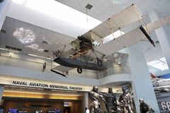 National Aviation Memorial Theater. Naval Aviation Memorial Theater in the Naval Aviation Museum, Pensacola, Florida Royalty Free Stock Photo