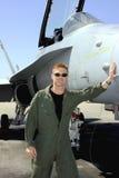 Naval aviator Royalty Free Stock Image