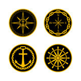 Naval Badges Stock Photos