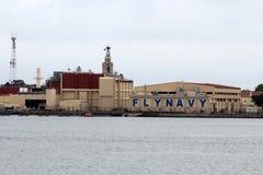Naval Base San Diego Royalty Free Stock Photo
