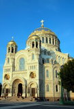Naval Cathedral in Kronshtadt. Russia Royalty Free Stock Photo