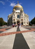 Naval cathedral in Kronstadt Royalty Free Stock Photos