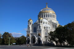Naval Cathedral in Kronstadt Royalty Free Stock Photography