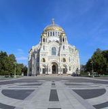 Naval Cathedral in Kronstadt Saint-petersburg Royalty Free Stock Photos