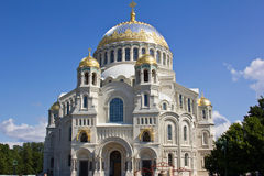 Naval cathedral of Saint Nicholas Stock Image