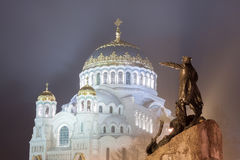 Naval Cathedral of Saint Nicholas in Kronstadt Royalty Free Stock Photography