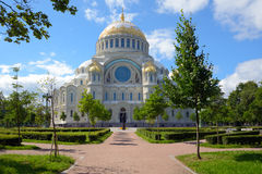 Naval Cathedral of St. Nicholas Stock Photography