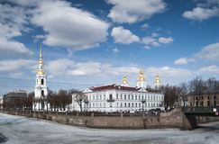Naval Cathedral of St. Nicholas Royalty Free Stock Image
