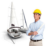 Naval construction Royalty Free Stock Photo