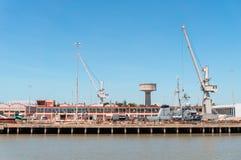 Naval dockyard Stock Image