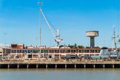 Naval dockyard Stock Photo