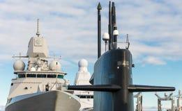 Naval fleet. Stock Photography