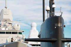 Naval fleet. Stock Photos