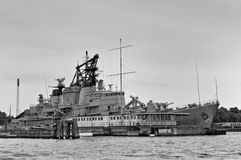 Naval Frigate Warships Royalty Free Stock Images