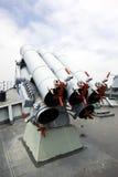 Naval gun Stock Image