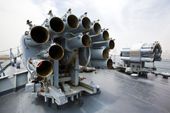 Naval gun Stock Photo