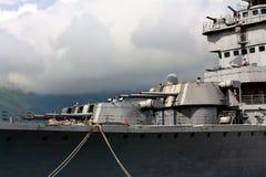 Naval guns Stock Photography
