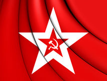 Naval Jack of the Soviet Union Royalty Free Stock Image