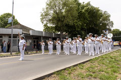 Naval Military Orchestra Stock Image